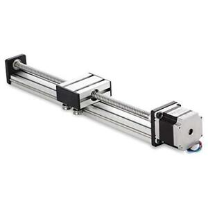 400mm Travel Length Linear Stage Actuator Diy Cnc Router Parts X Y Z Linear Rail