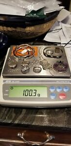 Lot Of Sterling Silver Jewelry Some Scrap Some Not Over 100 Total Grams 4