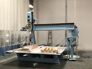Model 5t5 5 10 48s Five Axis Moving Table Cnc Router For Sale