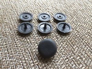4 Universal Seat Belt Stop Button Stopper Fits Mercedes Benz Gray Color