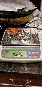 Lot Of Sterling Silver Jewelry Some Scrap Some Not Over 100 Total Grams 9