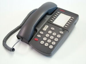 Avaya 6219 Analog Phone Grey 700058662 Refrb Wrnty