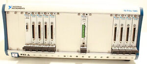 National Instruments 18 Port Chassis Ni Pxie 1065 Nipxi 2533 ni Pxie 4138