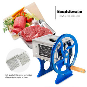 Ho 60a Stainless Steel Blade Manual Slicing Meat Cutting Machine