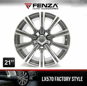 21 Lx570 Factory Style Wheels For Lexus Toyota Set Of 4 Rims 5 Bolts
