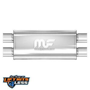 Magnaflow 12468 2 5 Inlet outlet Ss Muffler For 2005 06 Chevy Silverado 1500 Hd