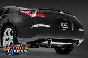 Magnaflow 19342 Polished Street Perfor Cat back Exhaust For 2003 09 Nissan 350z
