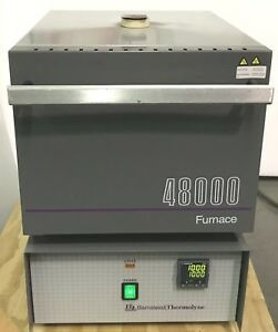 New Thermolyne Thermofisher 4800 Muffle Furnace F48025 60 80 1200c wrty