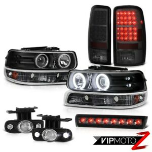 00 06 Chevy Tahoe Ls Roof Cab Lamp Fog Lamps Rear Brake Bumper Light Headlights