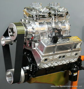 383ci Small Block Chevy Blown Pro Street Engine 600hp Built To Order Dyno Tuned