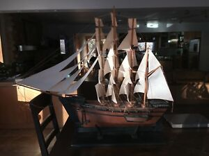 Clipper Ship Antique Model Ship Of The Great Republic