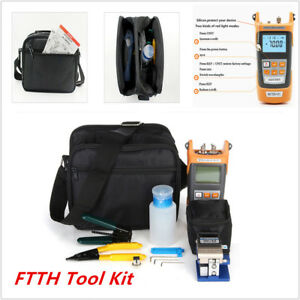 Ftth Tool Visible Fiber Optic Fault Locator Stripper Power Meter Tester Cleaver