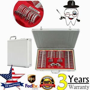 266pc Optical Trial Lens Set Optometry Kit Case free Trial Frame 2cross Cylinder