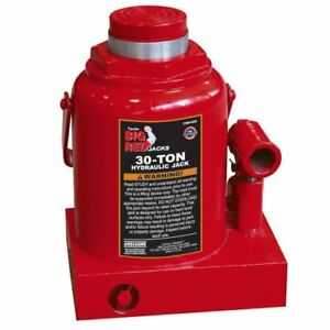 Torin Big Red Hydraulic Bottle Jack 30 Ton Capacity