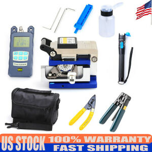 Generic Optical Fiber Cold Junction Tools Kit red Light Test Pen Fc 6s Cutter