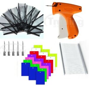 Tagging Gun Set Labeller With Needles Barbs 200 Clothing Tags