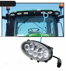 John Deere 6r 6rh 7r 8r 8rt And 9r 9rx Tractor Led Upper Cab Light
