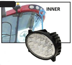 Case Ih Combine Led Inner Cab Light Hi lo Beam 2804 87106352 87106354