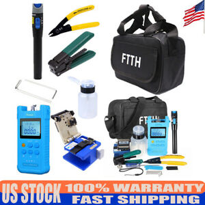 Fc 6s Mobile Light Power Ingaas Detector Fiber Optic Cold Junction Tool 18kits