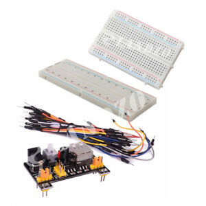 Mb102 400 Tie Points Breadboard solderless Prototype Breadboard Kit