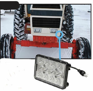Case 90 96 Series Tractor Led Front Hood Light Hi lo