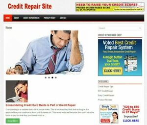 Mobile Responsive Credit Repair Site