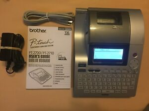 Brother P touch Pt 2700 2710 Label Maker Usb Thermal Printer Labeling System