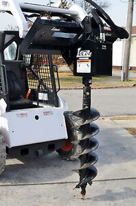 Bobcat Skid Steer Attachment Lowe 750 Hex Auger Drive With 12 Bit Ship 199