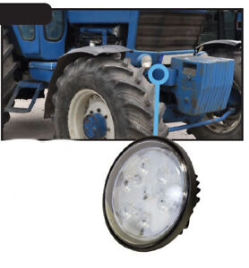 Ford new Holland Tractor Sealed Beam Led Fender Or Hood Light
