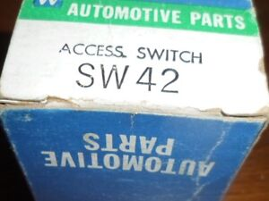 Usa Made Sw42 Nors Universal 6 Volt Push Pull Headlight Switch Rat Rod Hot Rod
