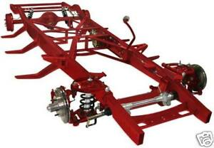 Tci 1953 1956 F 100 Pickup Complete Coil over Ifs 4 link Chassis Wilwood