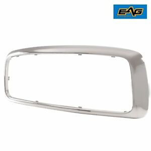 Outer Grille Shell Chrome Abs Plastic Shell 2003 2005 Dodge Ram 1500 2500 3500