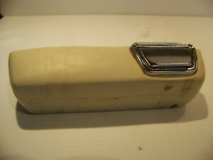 1970 Dodge Dart Plymouth Duster Valiant Lh White Armrest Ashtray Oem 1969 68