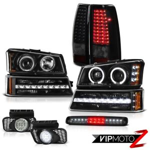 2003 2006 Chevy Silverado High Stop Light Fog Lights Bumper Tail Headlights Led