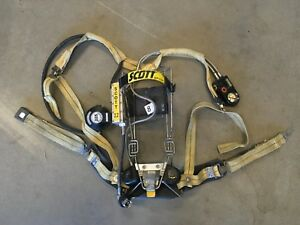 Scott 2 2 Scba Integrated Pass Air Pack Harness Firefighter Airpak Respira
