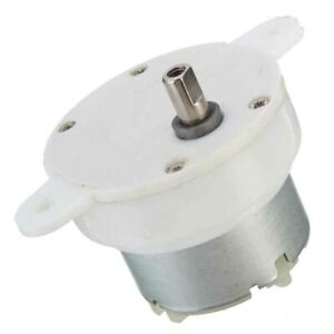 Dc12v 3rpm Slow Down Shaft Dia High Torque Cylinder Electric Micro Motor Gear