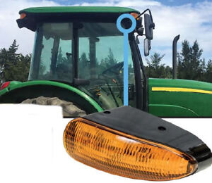 John Deere 5e 9030 Series Tractor Led Amber Cab Corner Light Qty 1 2748