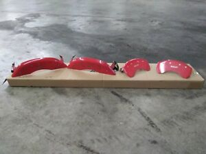 Mgp Red Caliper Covers Front Rear 15 18 Ford Mustang Gt
