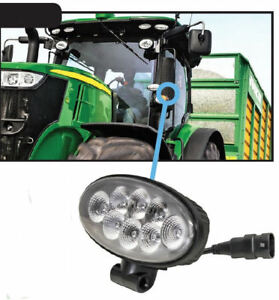 John Deere 5e 9rx Series Tractor Led Cab Fender Work Light 2758