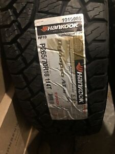 4 New Hankook Dynapro Atm Rf10 P265 70r18 Tires 70r 18 265 70 18