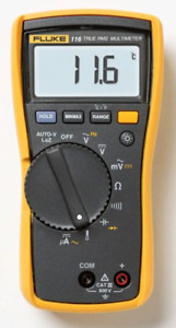 Fluke 116 Hvac Multimeter With Temperature And Microamps With A Nist traceable