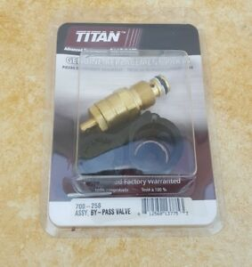 Oem Titan 700 258 By pass prime Valve Assembly For 440 Other Airless Sprayers