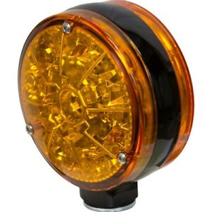 John Deere Tractor Windrower Combine Led Double sided Flashing Light Amber