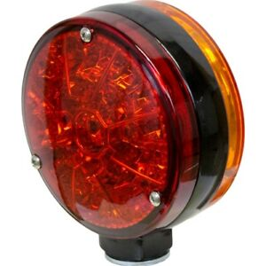 John Deere Tractor Windrower Combine Led Double sided Flashing Light Amber Red