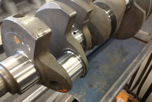 Ford 428 Cobra Jet Crankshaft 1u Gt Mustang Cougar Torino Fairlane Galaxy