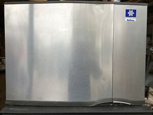 Manitowoc Remote Ice Machine Sy0694n 430lb With Condenser Optional Storage Bin