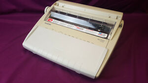 Brother Ml100 Standard Electronic Typewriter Tested And Working