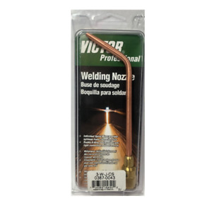 Tip Size 3 Type W j Welding Nozzle 0387 0043 Victor Brazing Torch Copper Nozzle