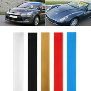 60x6 Car Reflective Windshield Banner Vinyl Decal Sun Strip Visor Sticker 1pc