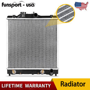 Radiator For 1992 2000 Honda Civic Del Sol 4cyl 1 5l 1 6l 1290 Aluminum Lifetime